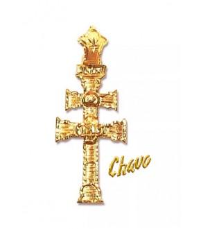 Cruz de Caravaca de oro 6RM